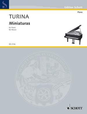 Turina, J: Miniatures