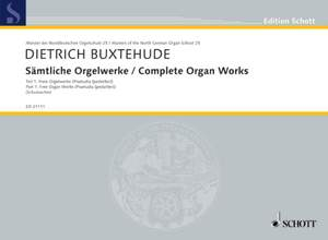 Buxtehude, D: Complete Works for Organ Product Image
