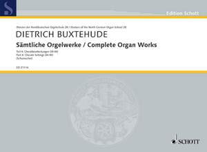 Buxtehude, D: Complete Organ Works