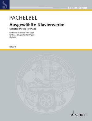 Pachelbel, J: Selected Piano works