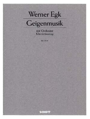 Egk, W: Geigenmusik
