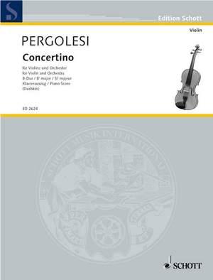 Pergolesi, G B: Concertino Bb Major