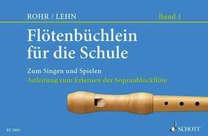 Flötenbüchlein für die Schule Heft 1 Product Image