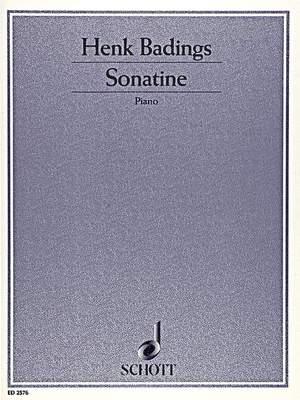 Badings, H: Sonatina