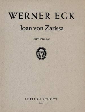 Egk, W: Joan von Zarissa