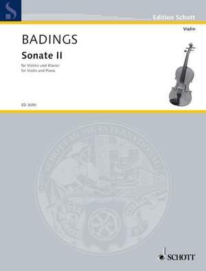 Badings, H: Sonata II