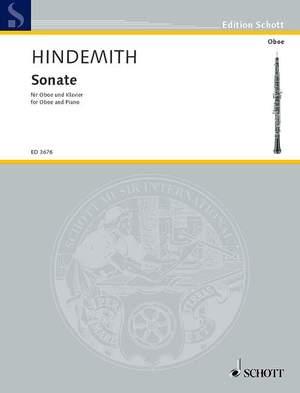 Hindemith, P: Oboe Sonata