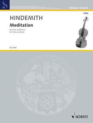 Hindemith, P: Meditation