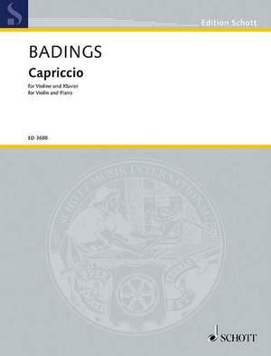 Badings, H: Capriccio