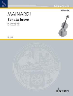 Mainardi, E: Sonata breve