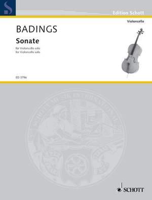 Badings, H: Sonata