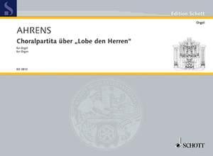 Ahrens, J: Choralpartita über Lobe den Herren