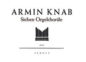 Knab, A: Seven Organ chorales