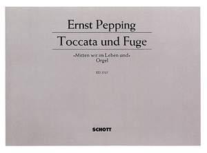 Pepping, E: Toccata und Fuge