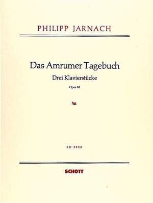 Jarnach, P: Das Amrumer Tagebuch op. 30