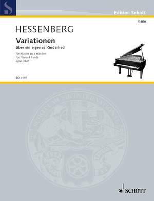 Hessenberg, K: Variationen über ein eigenes Kinderlied