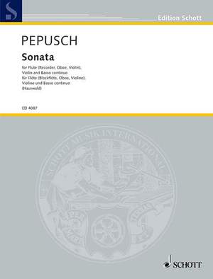 Pepusch, J C: Sonata C Major