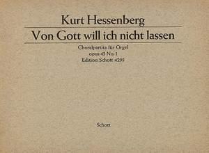 Hessenberg, K: Zwei Choralpartiten für Orgel op. 43