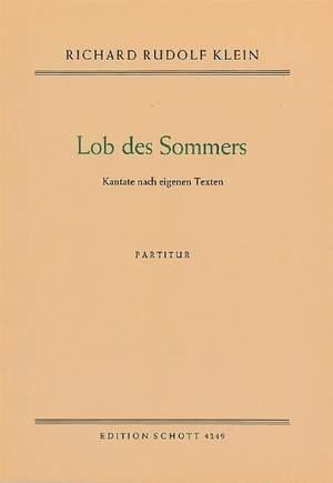 Klein, R R: Lob des Sommers Product Image