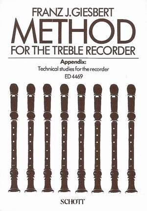 Giesbert, F J: Method for the Treble Recorder
