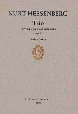 Hessenberg, K: Trio op. 48