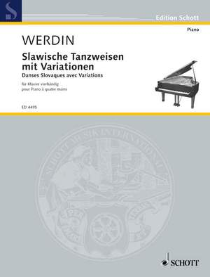 Werdin, E: Slavonic Dances with Variations