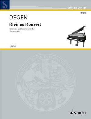 Degen, H: Kleines Konzert