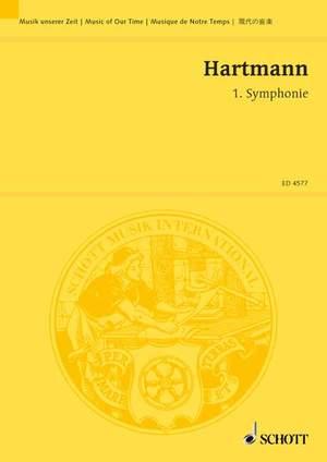 Hartmann, K A: 1. Symphonie