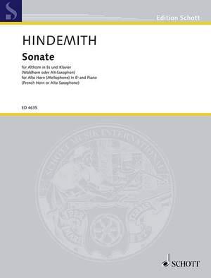 Hindemith, P: Alto Horn Sonata (1943)