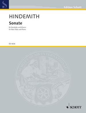 Hindemith, P: Tuba Sonata