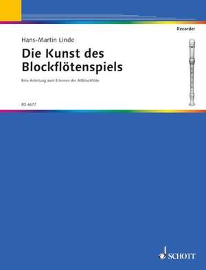 Linde, H: Die Kunst des Blockflötenspiels