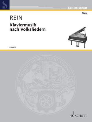 Rein, W: Piano music after folksongs