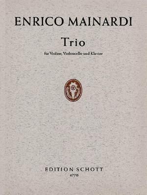 Mainardi, E: Piano Trio