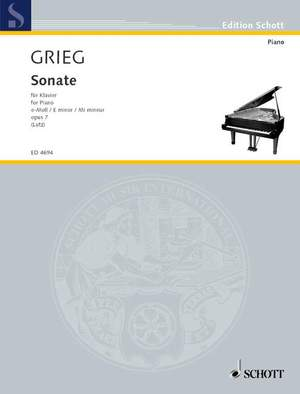 Grieg, E: Sonata E Minor op. 7