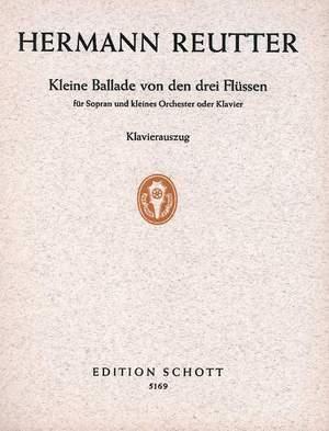 Reutter, H: Kleine Ballade von den drei Flüssen
