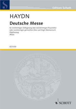Haydn, J M: German Mass