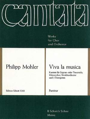Mohler, P: Viva la musica op. 41