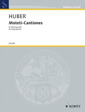 Huber, K: Moteti-Cantiones