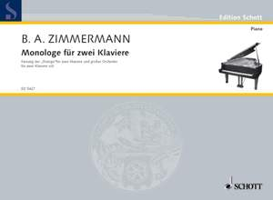 Zimmermann, B A: Monologe