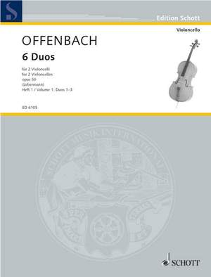 Offenbach, J: Six Duos op. 50 Band 1