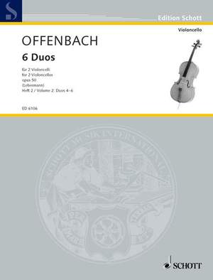 Offenbach, J: Six Duos op. 50 Band 2