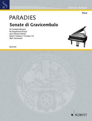 Paradisi, P D: Sonatas for Harpsichord Band 1