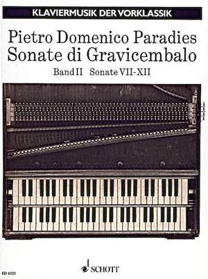 Paradisi, P D: Sonatas for Harpsichord Band 2