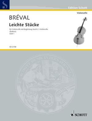Bréval, J B: Easy piece Band 1