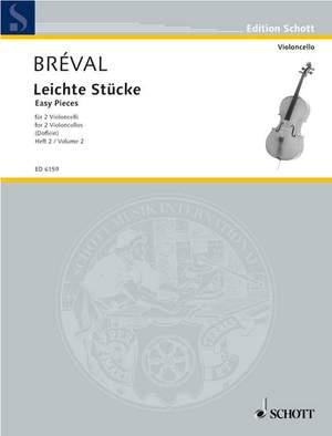 Bréval, J B: Easy piece Band 2