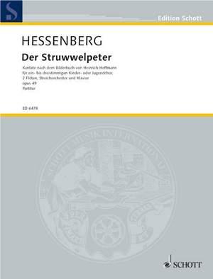 Hessenberg, K: Der Struwwelpeter op. 49