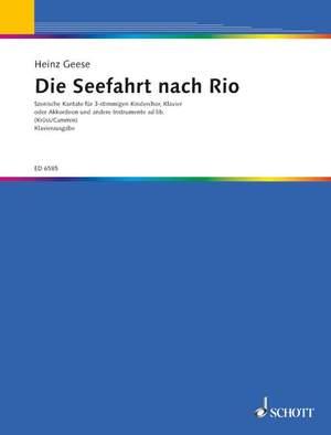 Geese, H: Die Seefahrt nach Rio