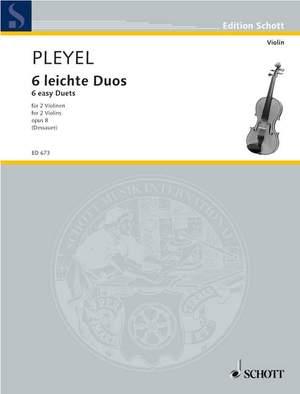 Pleyel, I J: 6 easy Duos op. 8 Product Image