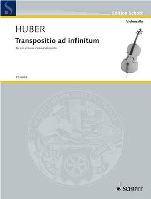 Huber, K: Transpositio ad infinitum