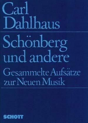 Dahlhaus, C: Schönberg und andere